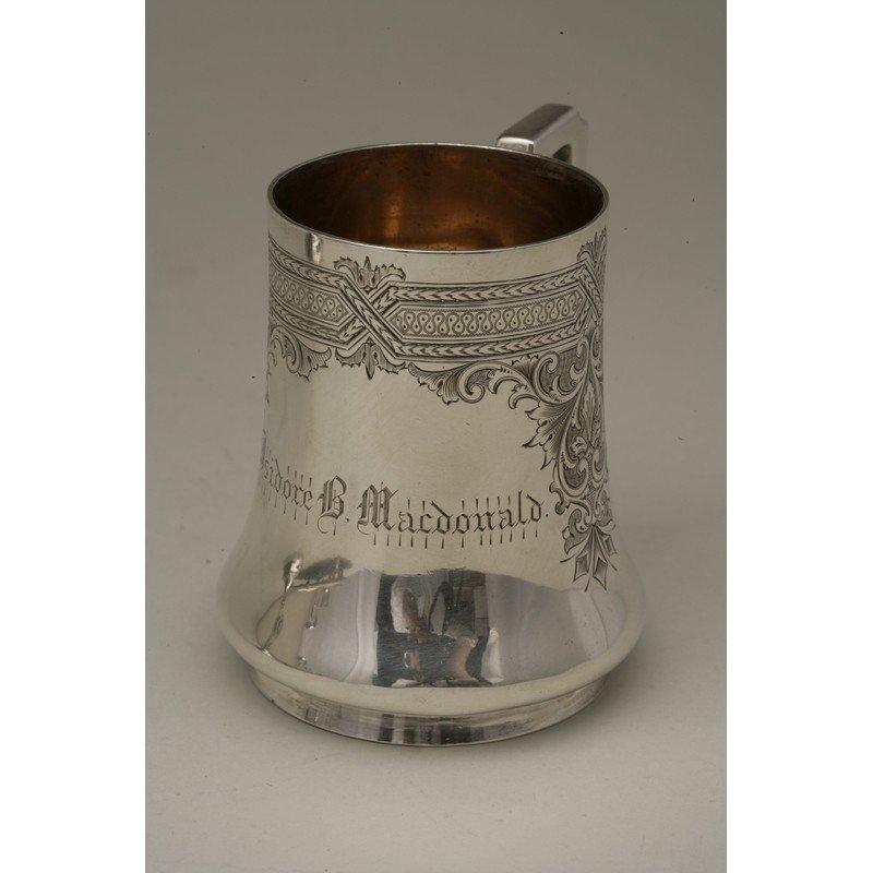 Vanderslice & Co. (1858-1908) Silver Presentation Mug