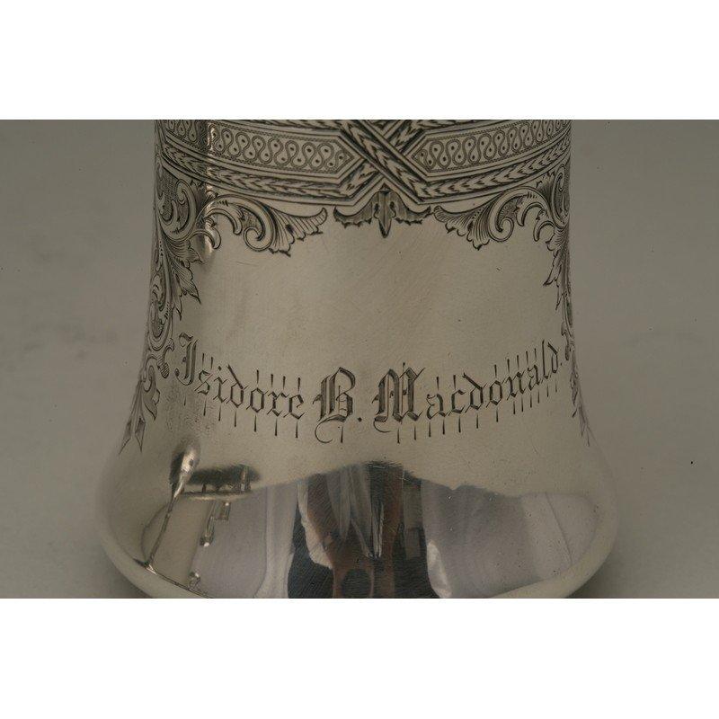 Vanderslice & Co. (1858-1908) Silver Presentation Mug - 2