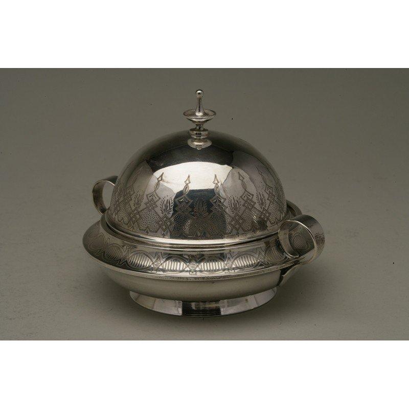 Vanderslice & Co. (1858-1908) Silver Butter Dish