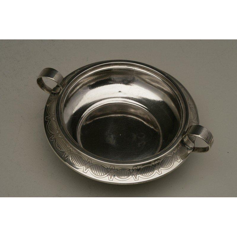 Vanderslice & Co. (1858-1908) Silver Butter Dish - 3