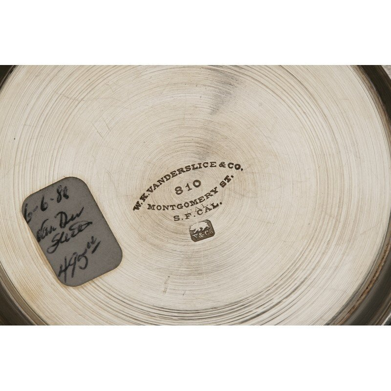 Vanderslice & Co. (1858-1908) Silver Butter Dish - 4
