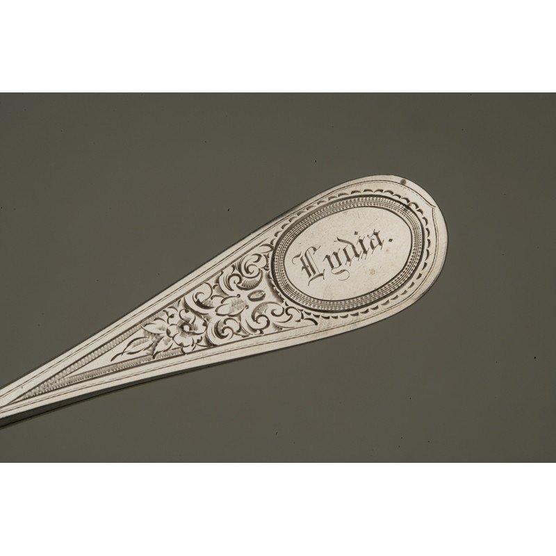 Vanderslice & Co. (1858-1908) Silver Waffle Knife - 4