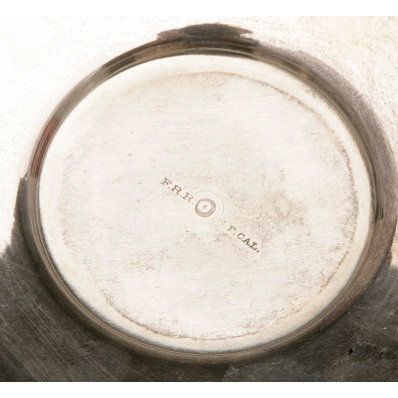Friedrich Reichel (1856-1867) Silver Teacup & Saucer - 5