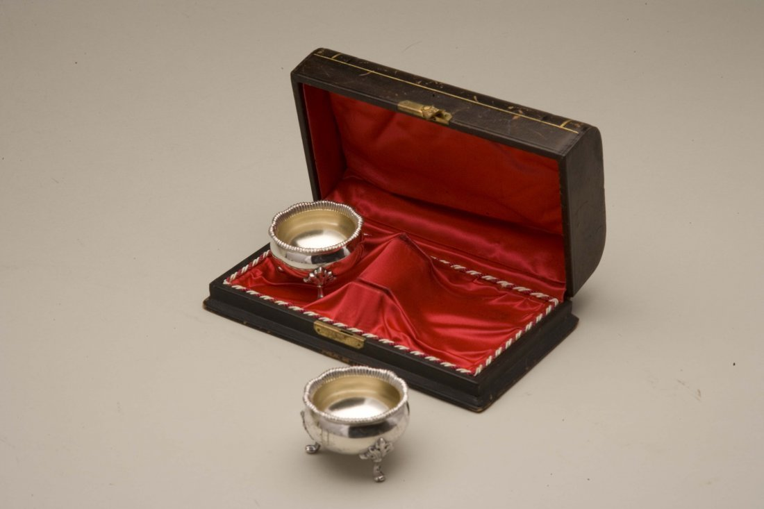 Friedrich Reichel (1856-1867) Two Cased Silver Master