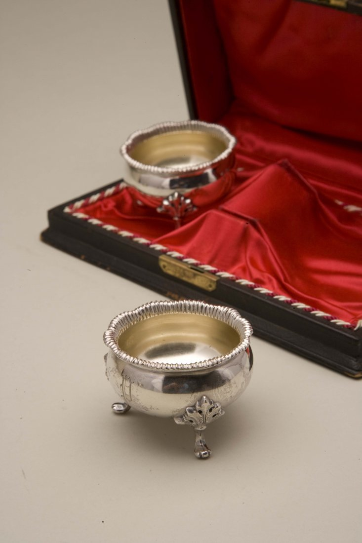 Friedrich Reichel (1856-1867) Two Cased Silver Master - 2