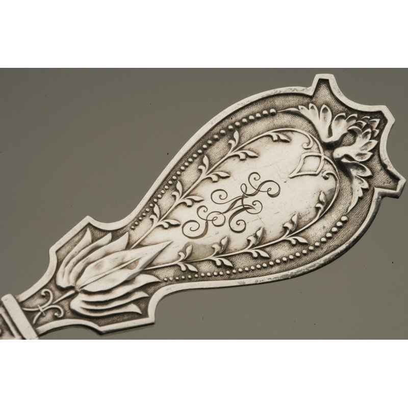 Schulz & Fischer (1863-1900) Coin Silver Fish Service - 6