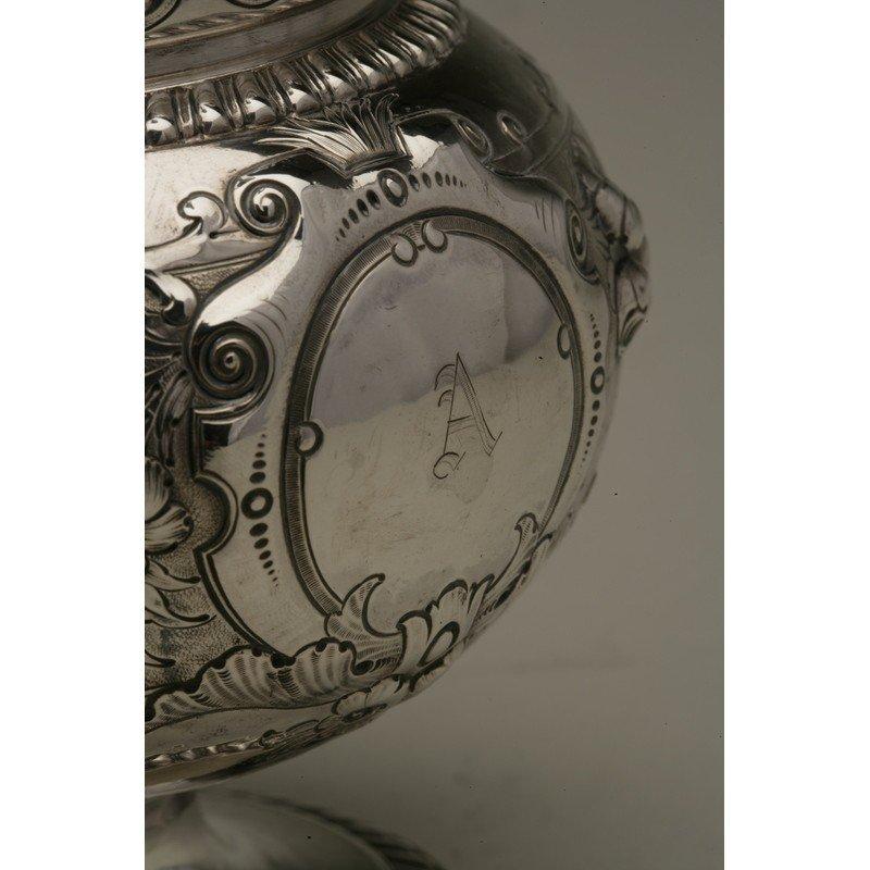 Schulz & Fischer (1863-1900) Coin Silver Pitcher - 2