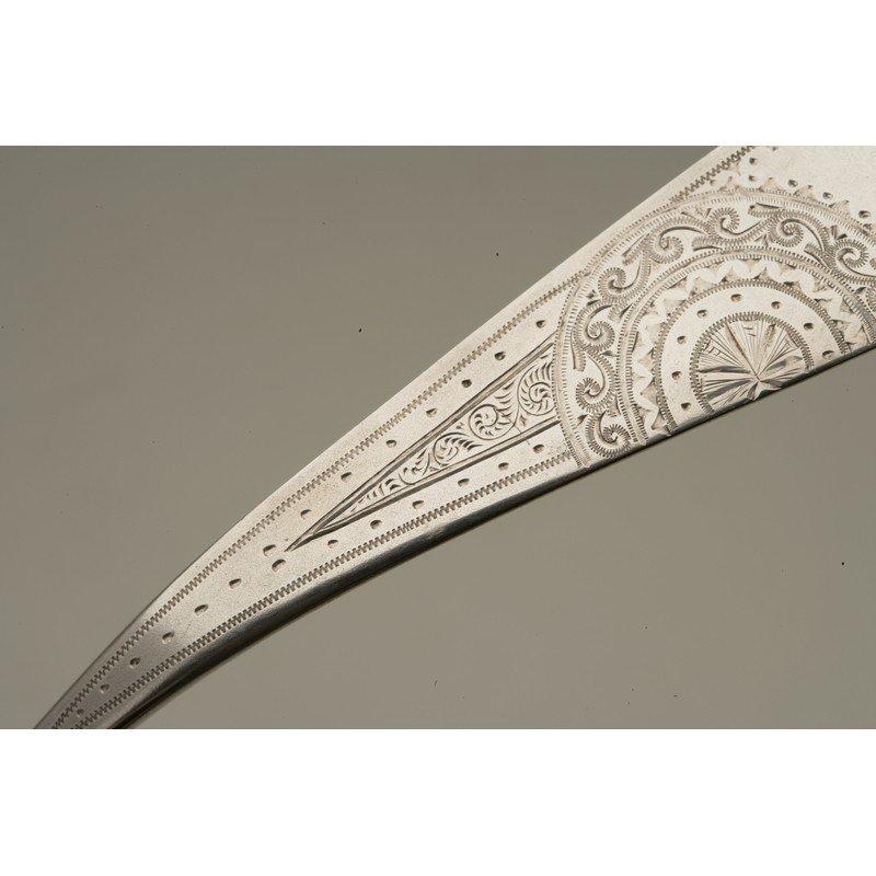 Schulz & Fischer (1863-1900) Sterling Silver Ladle - 4