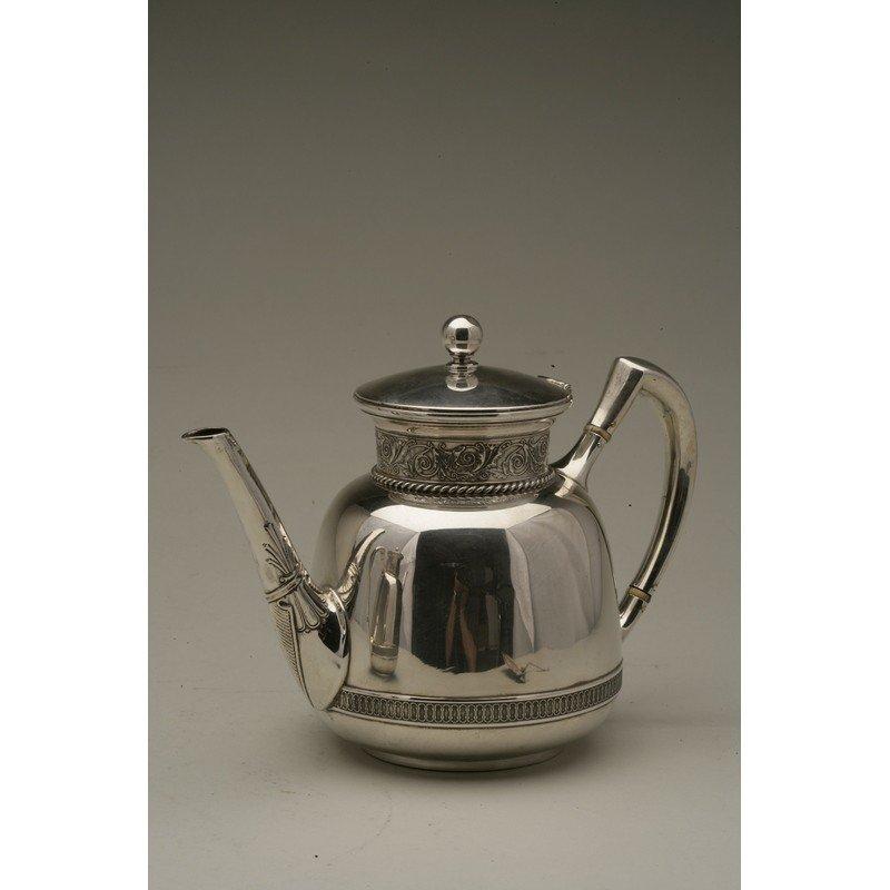 Schulz & Fischer (1863-1900)  Sterling Coffee & Tea