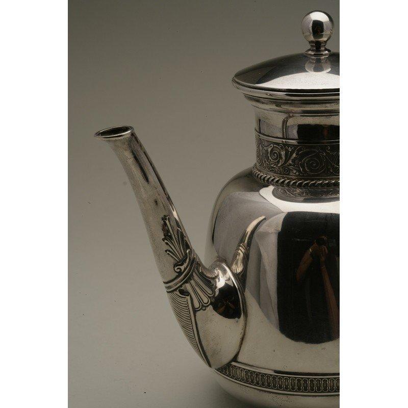 Schulz & Fischer (1863-1900)  Sterling Coffee & Tea - 3