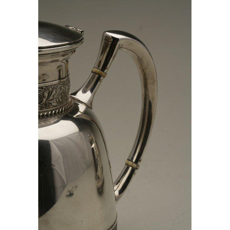 Schulz & Fischer (1863-1900)  Sterling Coffee & Tea - 4