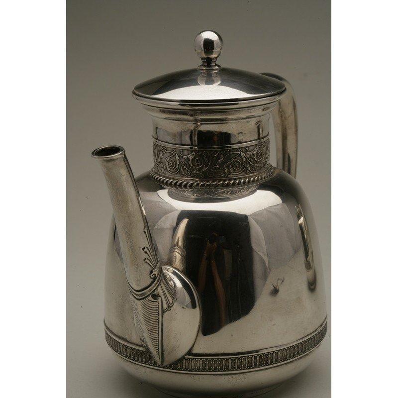 Schulz & Fischer (1863-1900)  Sterling Coffee & Tea - 5