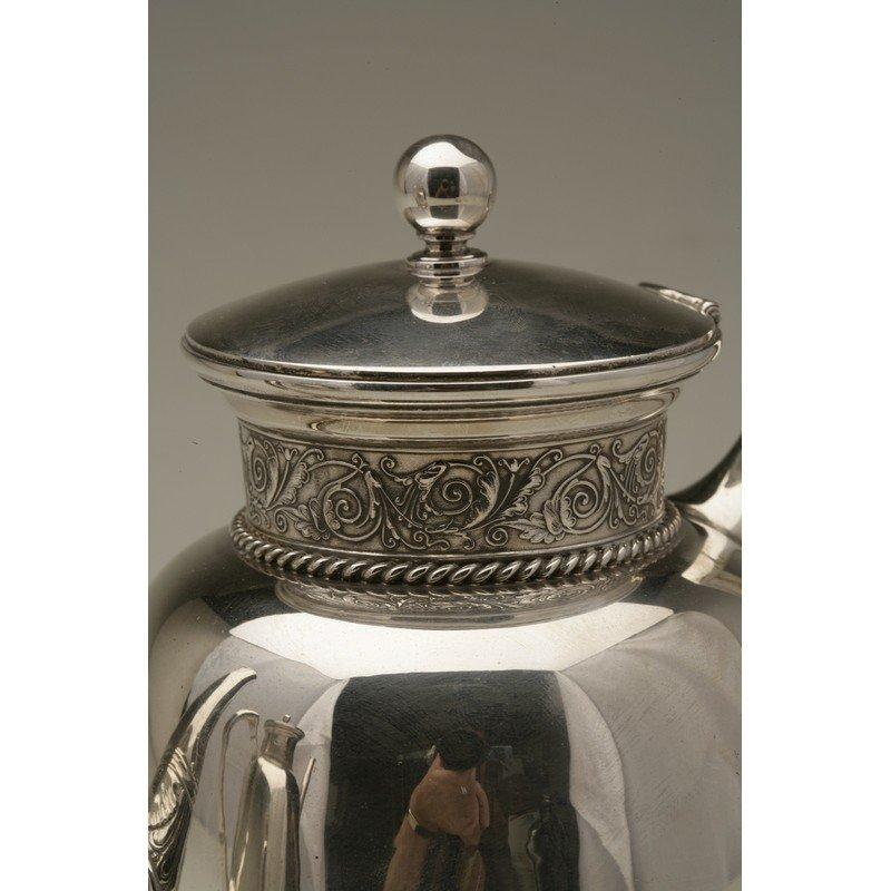 Schulz & Fischer (1863-1900)  Sterling Coffee & Tea - 6