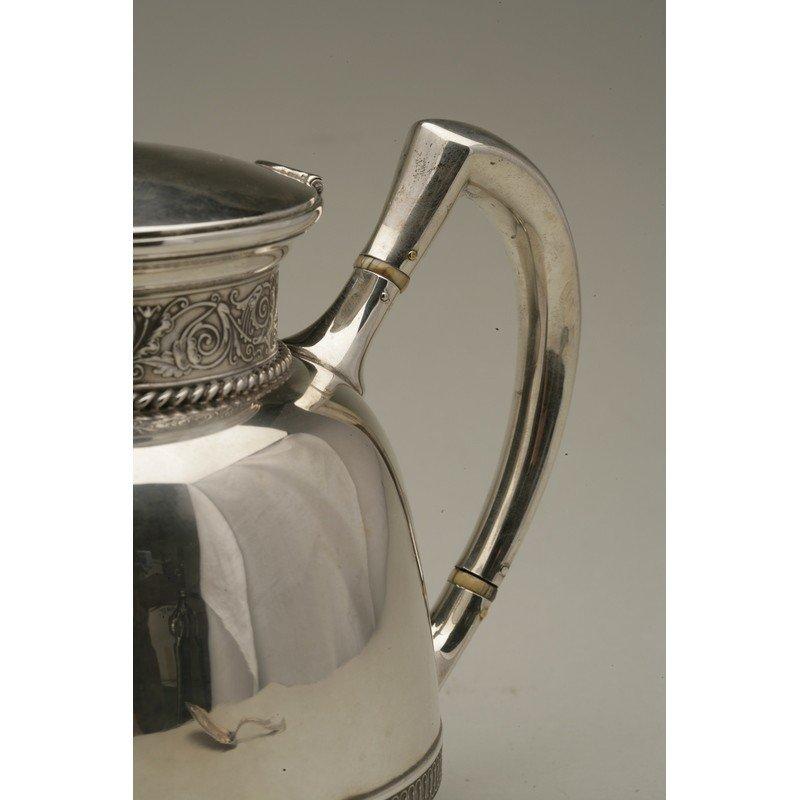 Schulz & Fischer (1863-1900)  Sterling Coffee & Tea - 7