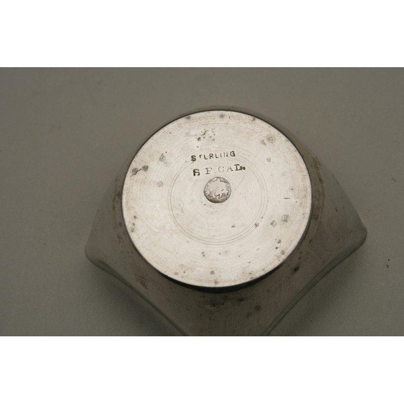 Schulz & Fischer (1863-1900) Six Sterling Silver Salts - 3