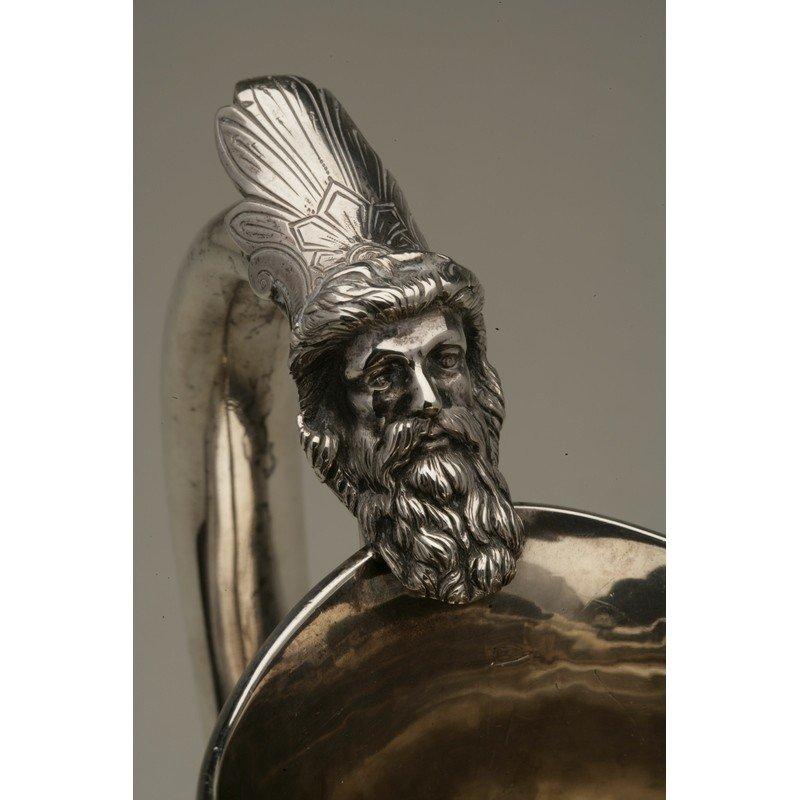 Schulz & Fischer (1863-1900) Coin Silver Water Pitcher - 5