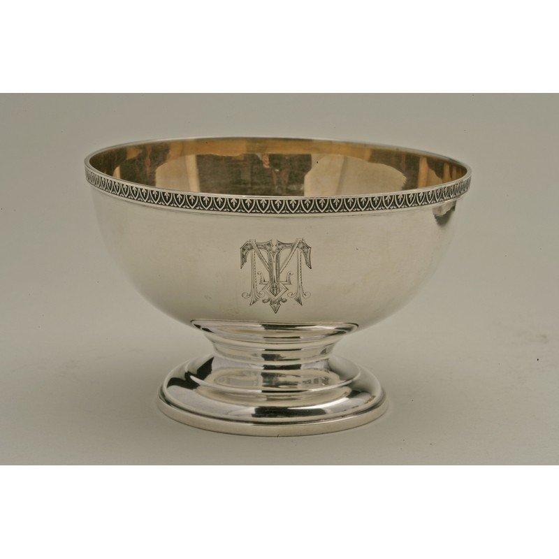 Schulz & Fischer (1863-1900) Coin Silver Bowl