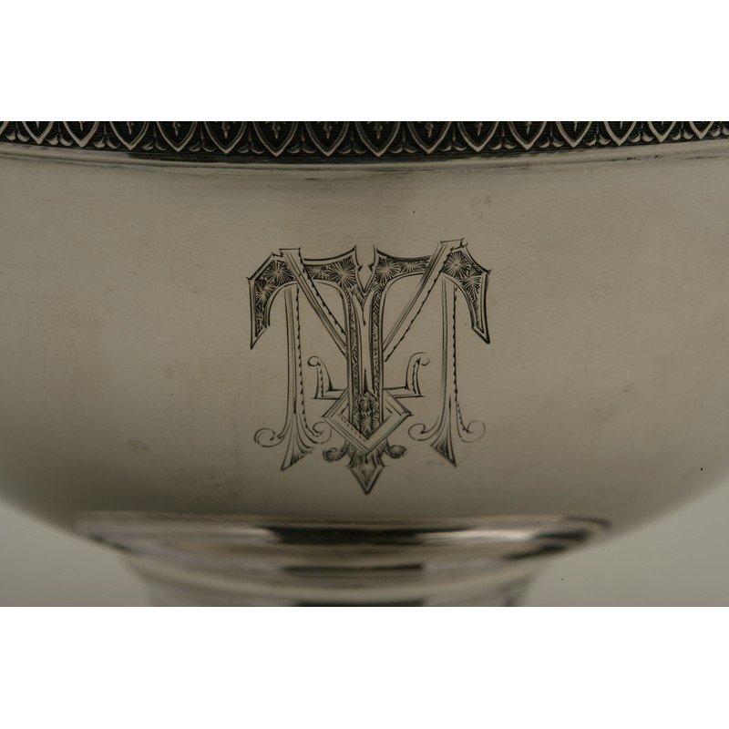 Schulz & Fischer (1863-1900) Coin Silver Bowl - 2
