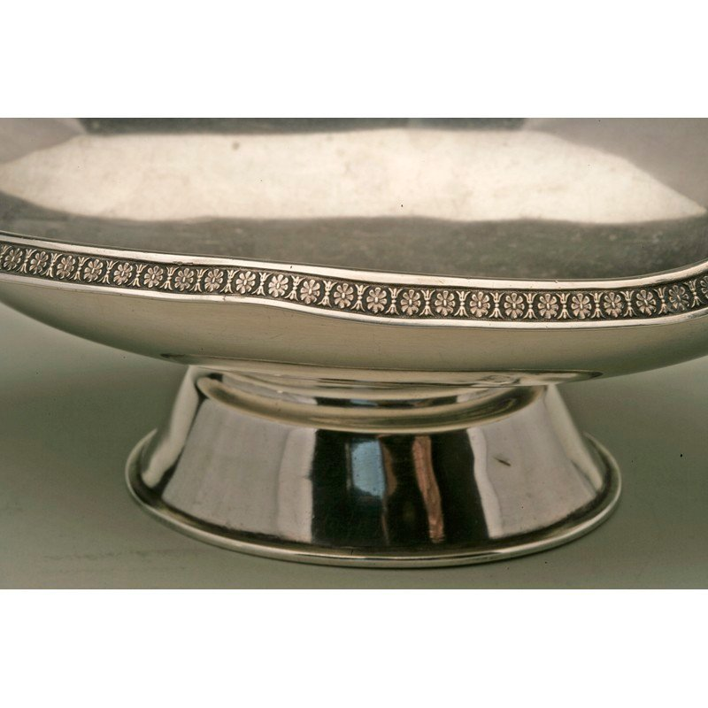 Schulz & Fischer (1863-1900) Coin Silver Footed Dish - 2