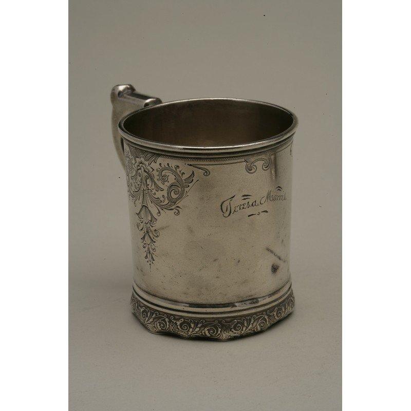 Schulz & Fischer (1863-1900) Sterling Mug