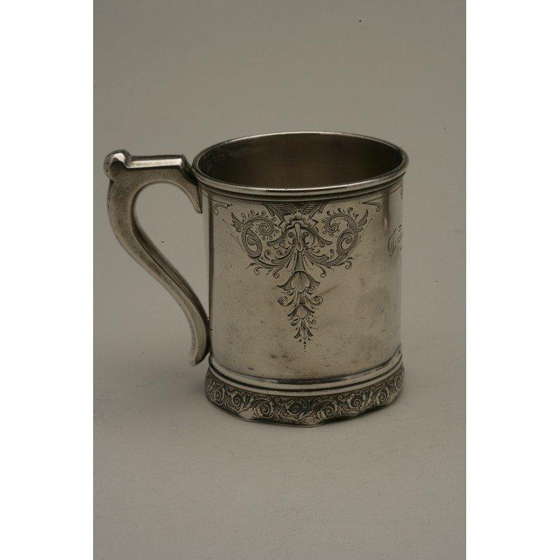 Schulz & Fischer (1863-1900) Sterling Mug - 2