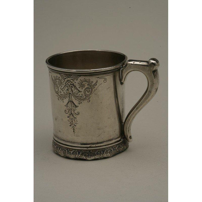 Schulz & Fischer (1863-1900) Sterling Mug - 3