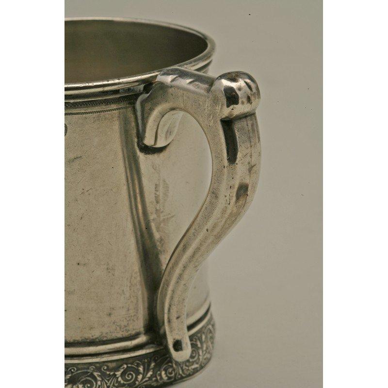 Schulz & Fischer (1863-1900) Sterling Mug - 4