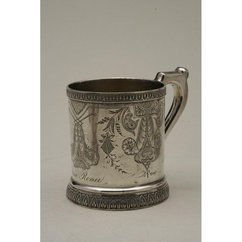 Schulz & Fischer (1863-1900) Coin Silver Mug