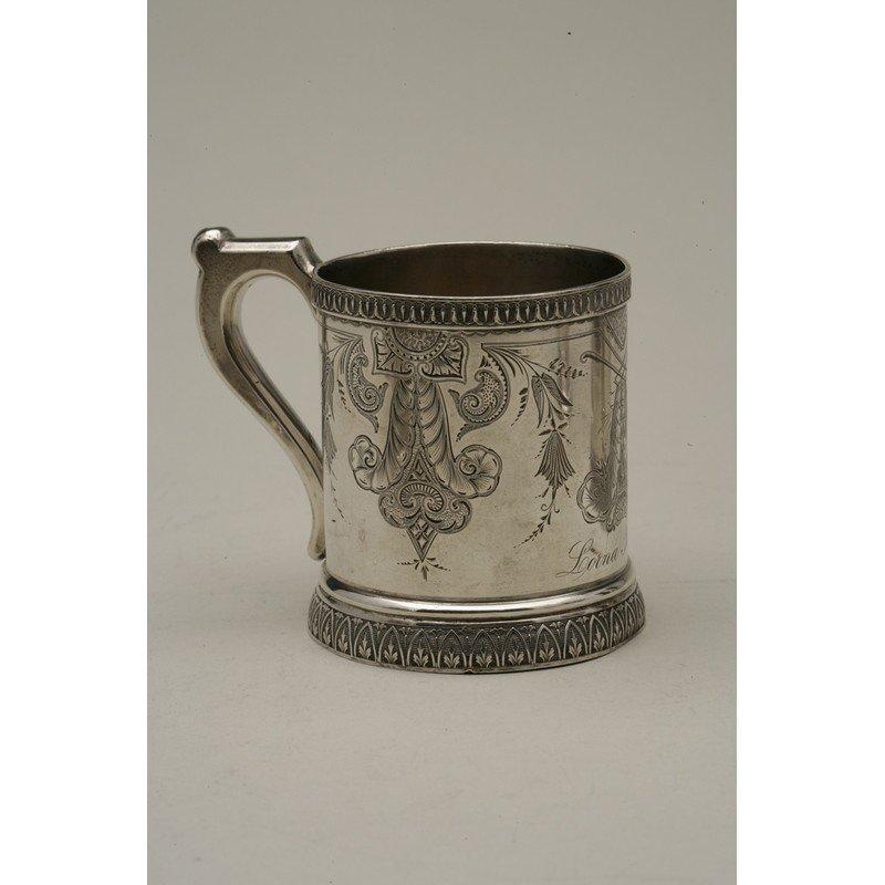 Schulz & Fischer (1863-1900) Coin Silver Mug - 2