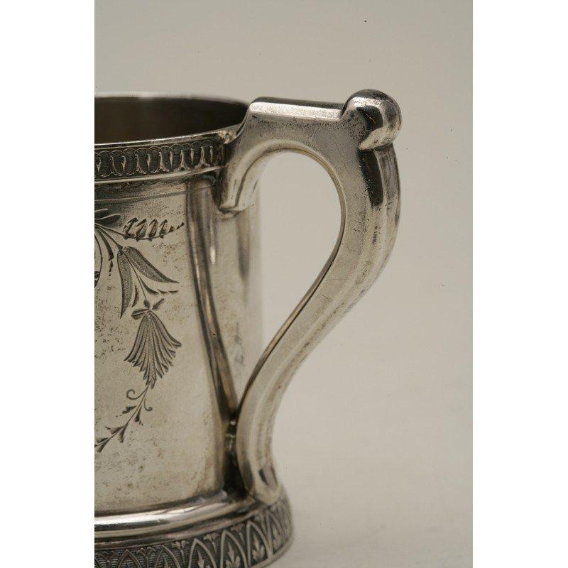 Schulz & Fischer (1863-1900) Coin Silver Mug - 4