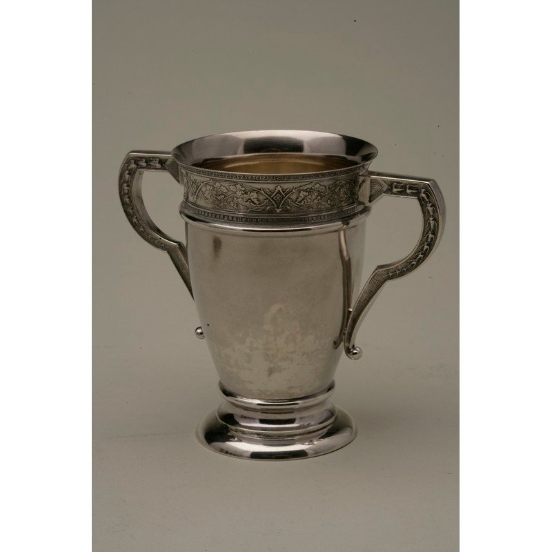 Schulz & Fischer (1863-1900) Sterling Two Handled Cup