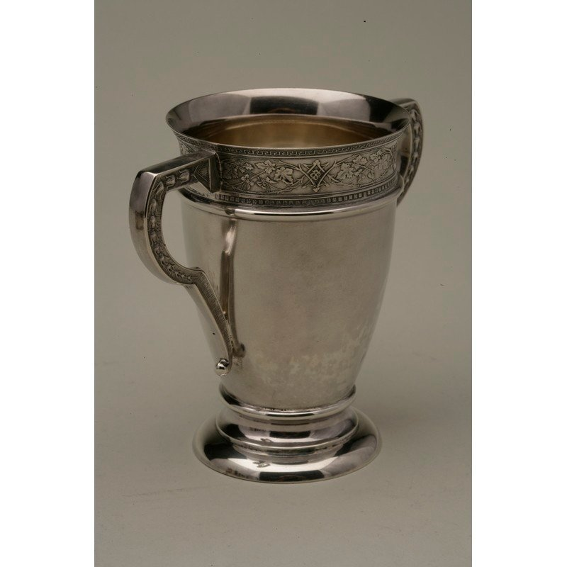 Schulz & Fischer (1863-1900) Sterling Two Handled Cup - 2