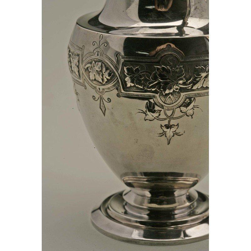 Koehler & Ritter (1868-1885) Silver Presentation Coffee - 4
