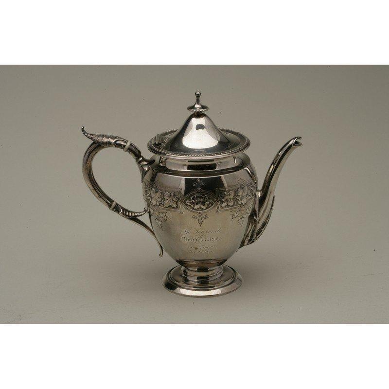 Koehler & Ritter (1868-1885) Silver Presentation Coffee - 5