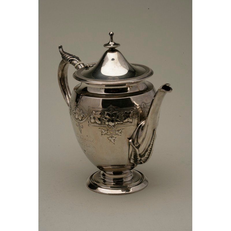 Koehler & Ritter (1868-1885) Silver Presentation Coffee - 6