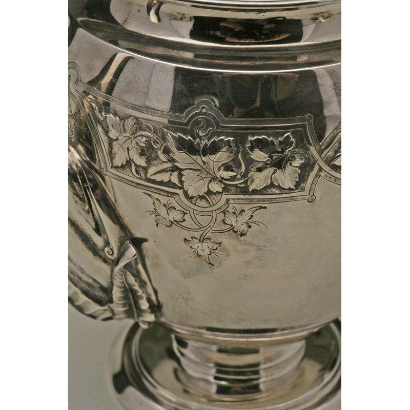 Koehler & Ritter (1868-1885) Silver Presentation Coffee - 7