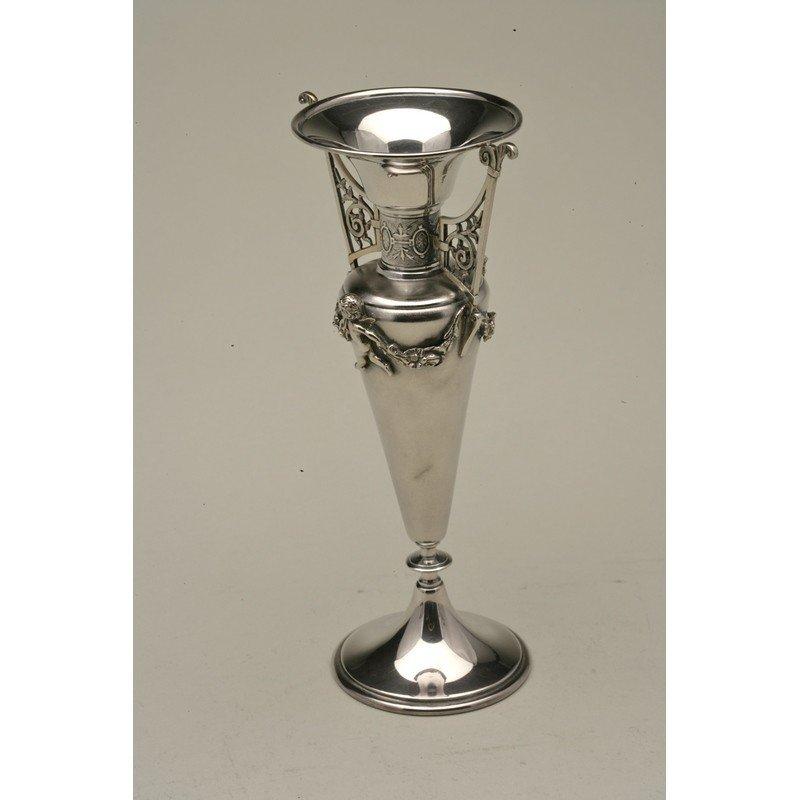 Koehler & Ritter (1868-1885) Silver Bud Vase - 2