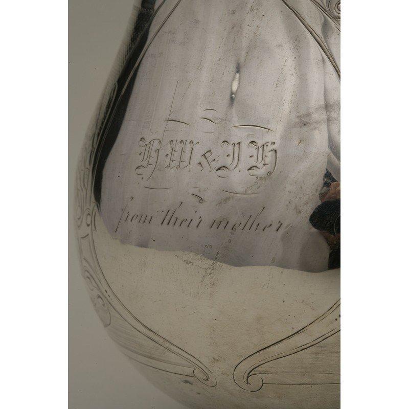 Koehler & Ritter (1867-1885) Coin Silver Pitcher - 2