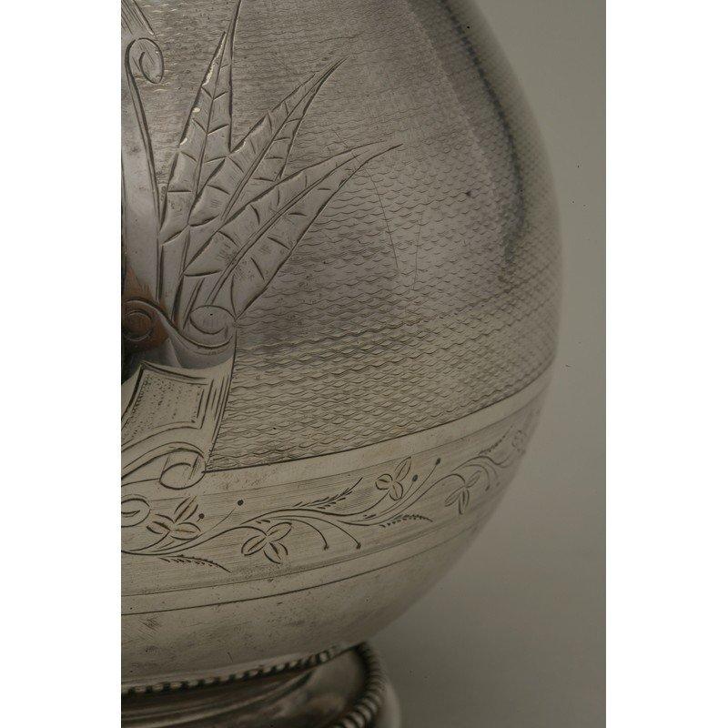 Koehler & Ritter (1867-1885) Coin Silver Pitcher - 4