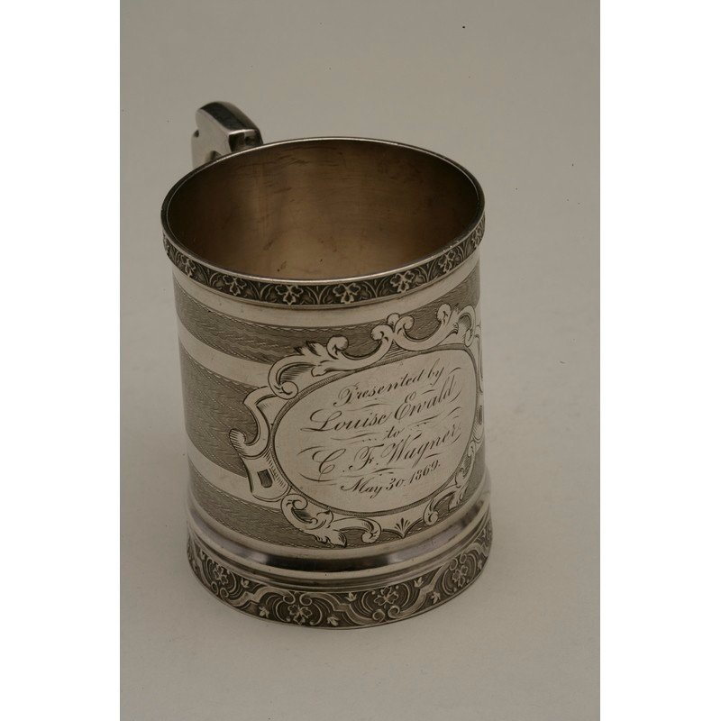 Koehler & Ritter (1868-1885) Silver Presentation Cup