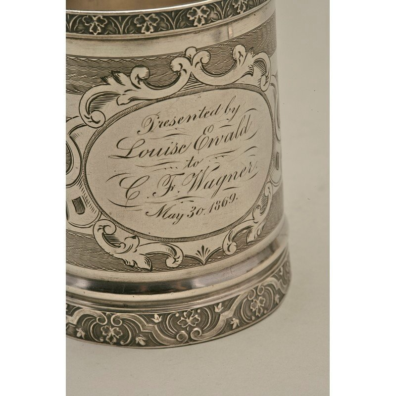Koehler & Ritter (1868-1885) Silver Presentation Cup - 2