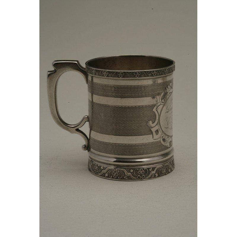 Koehler & Ritter (1868-1885) Silver Presentation Cup - 3