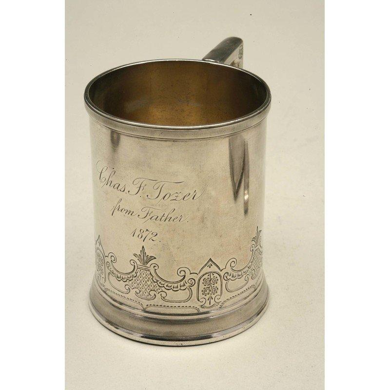 Koehler & Ritter (1868-1885) Silver Mug