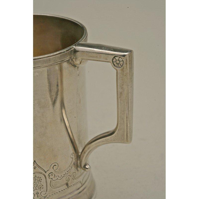 Koehler & Ritter (1868-1885) Silver Mug - 3