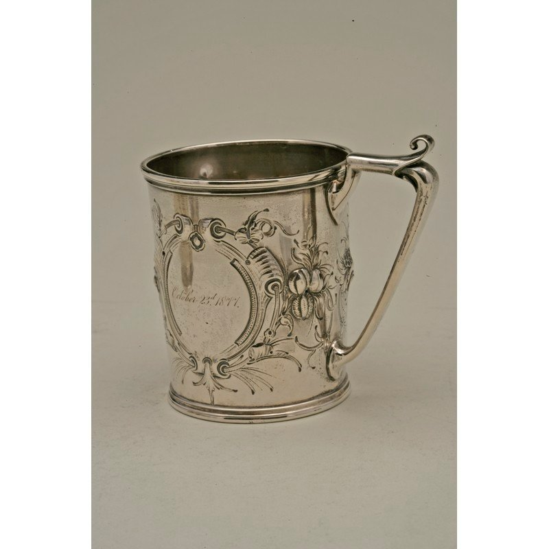 Koehler & Ritter (1868-1885) Coin Silver Cup
