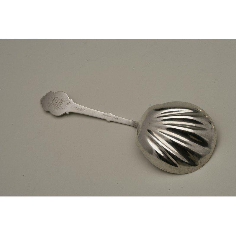 Koehler & Ritter (1868-1885) Silver Berry Spoon - 3