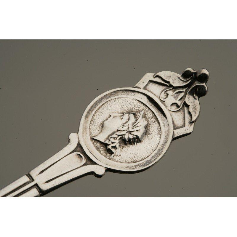 Koehler & Ritter (1868-1885) Silver Berry Spoon - 5