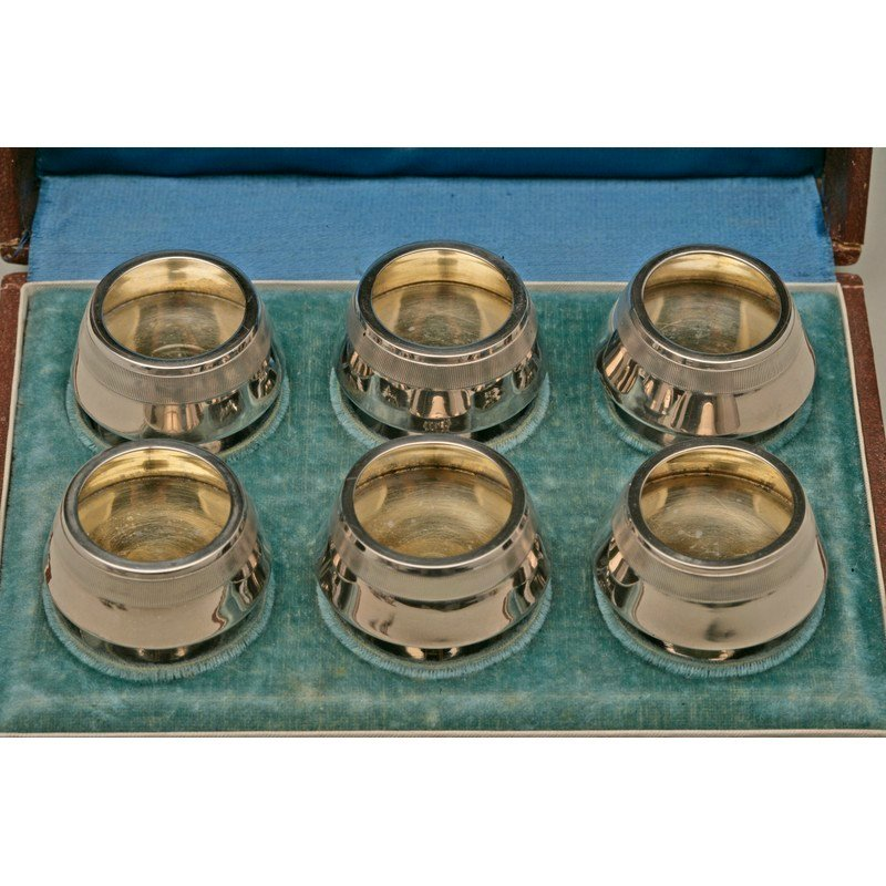 Koehler & Ritter (1868-1885) Six Cased Silver Salts - 2