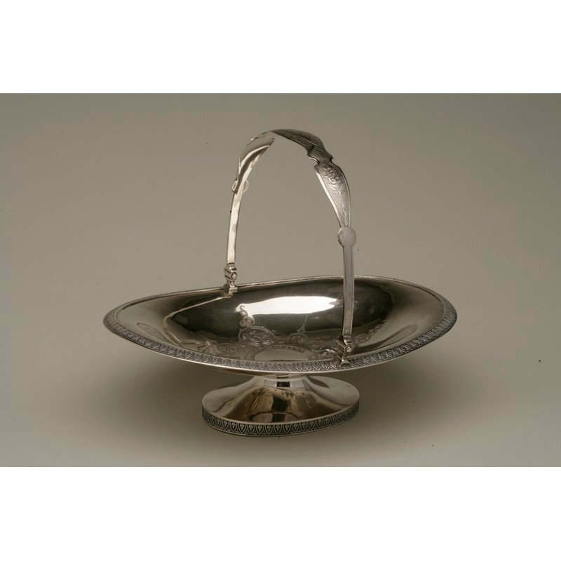 Coin Silver Basket