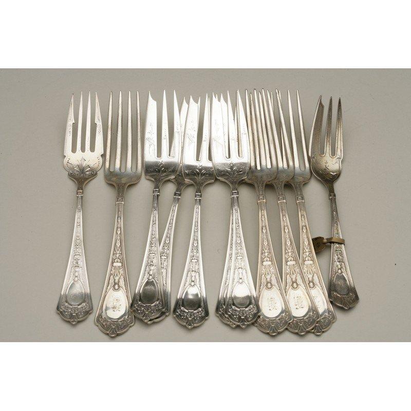 25 Assorted Sterling Forks